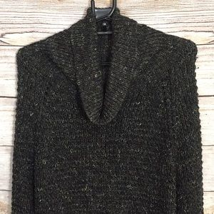 Free People Sweater Dylan Tweedy Cowl XS Oversized